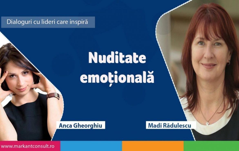 Nuditae Emotionala - articol Publicat pe Markant.ro